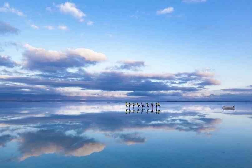 茶卡盐湖盐湖