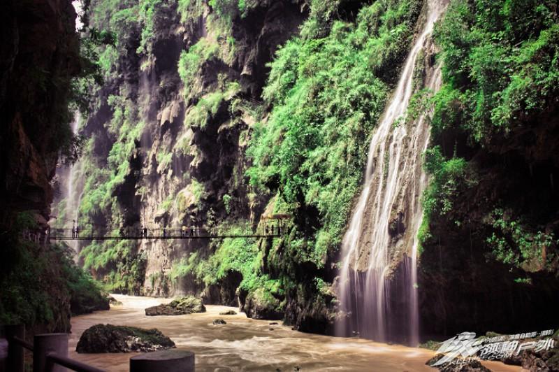 马岭河峡谷旅游