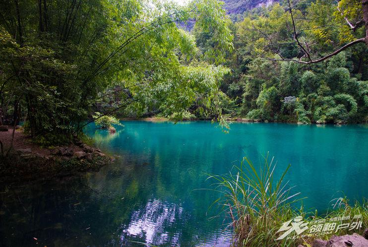 贵州荔波樟江风景区旅游,必去核心景点世界自然遗产小七孔景区