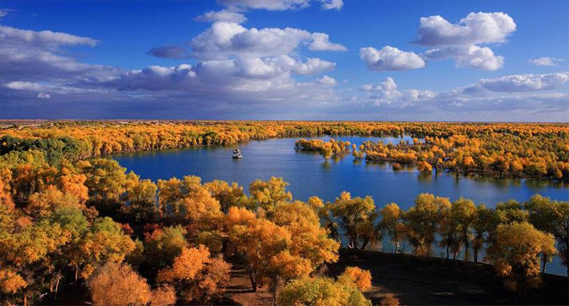 南疆輪臺怎么旅游?塔里木胡楊林最佳旅游時間是什么時候?