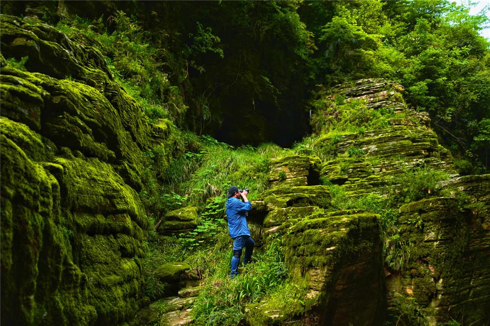 恩施清江古河床最美徒步線路怎么游玩呢?