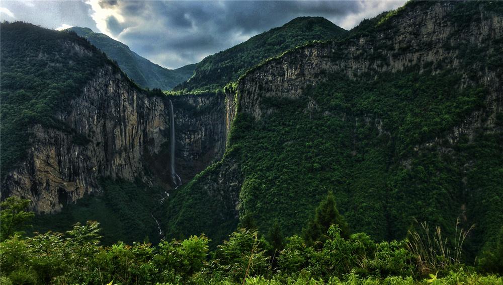 恩施坪壩營景區——雞公山原始森林