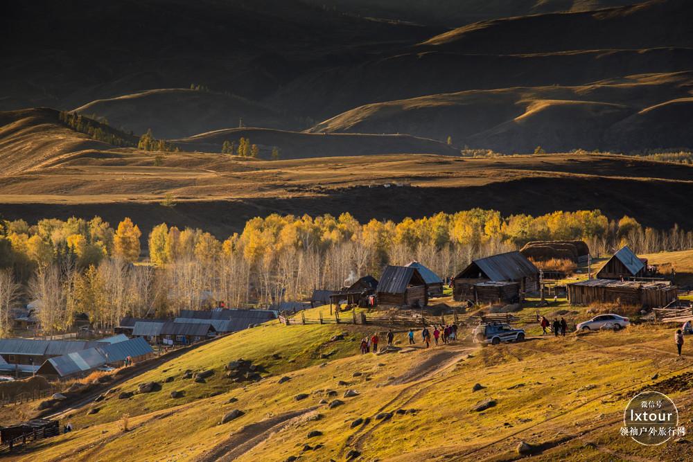 新疆喀纳斯旅游