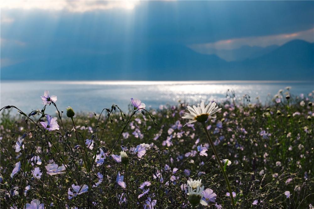 新疆赛里木湖