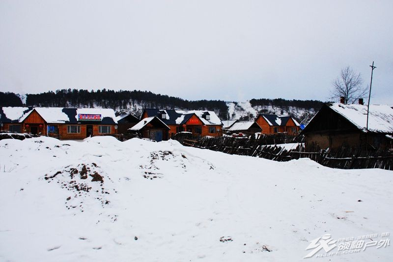 漠河北红村