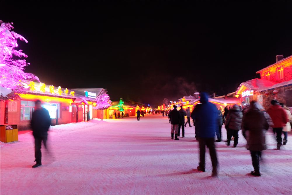 雪乡雪韵大街