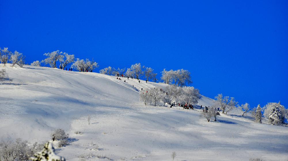 雪乡大秃顶子山